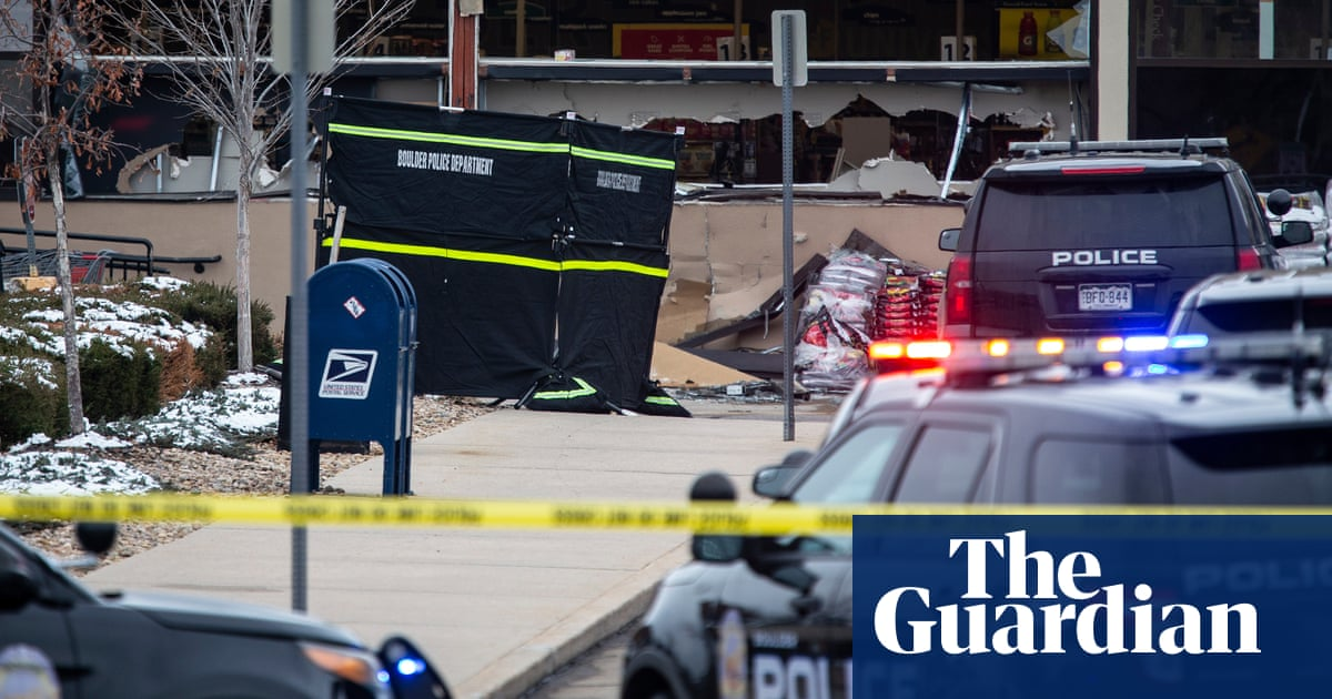 'I couldn't help anybody': Colorado witnesses describe terror as shots rang out