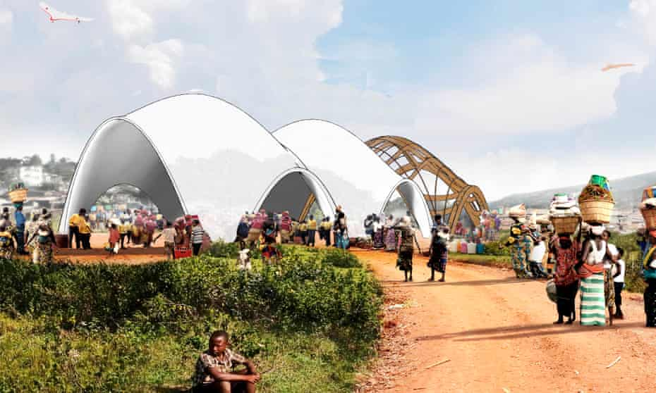 Norman Foster's prototype for a droneport.