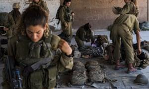 IDF female combat unit