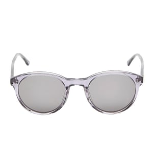 clear plastic frame sunglasses Liberty