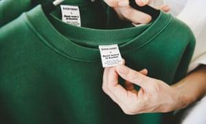Everybody green sweatshirt.