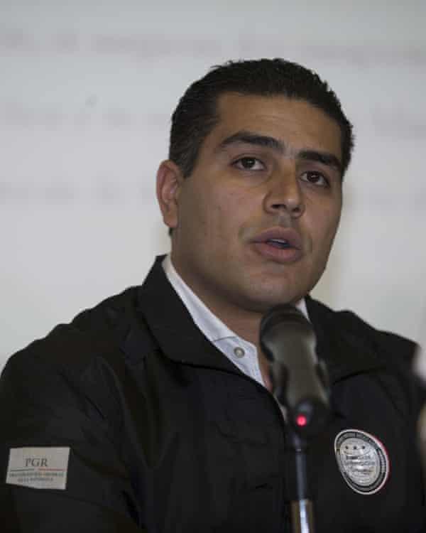 Omar García Harfuch pictured in 2017