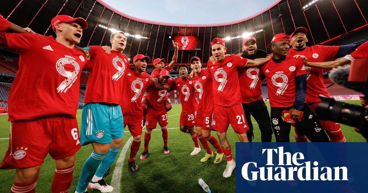 Bayern play the hits to celebrate ninth consecutive Bundesliga title