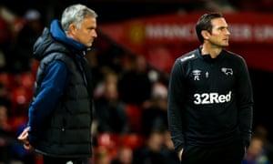 José Mourinho and Frank Lampard