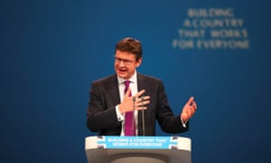 Greg Clark speaking at the conference.