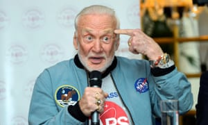 Former Nasa astronaut Buzz Aldrin, pictured in 2015, has written extensively about space travel and exploration.