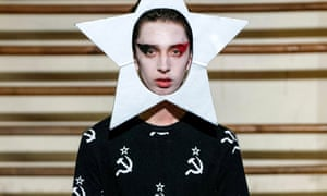 Gosha Rubchinskiy's show, S/S16, Paris men's fashion Week.
