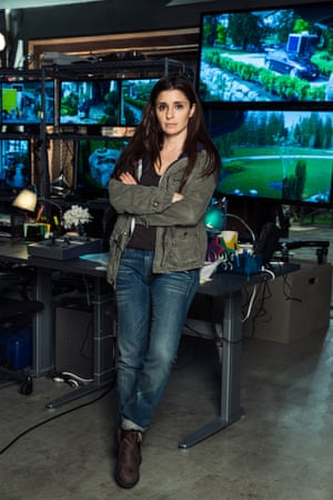 Wired and wily … Shiri Appleby as Rachel Goldberg.