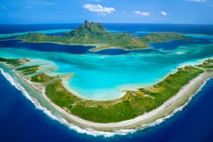 Bora Bora, French Polynesia Pahia and Otemanu