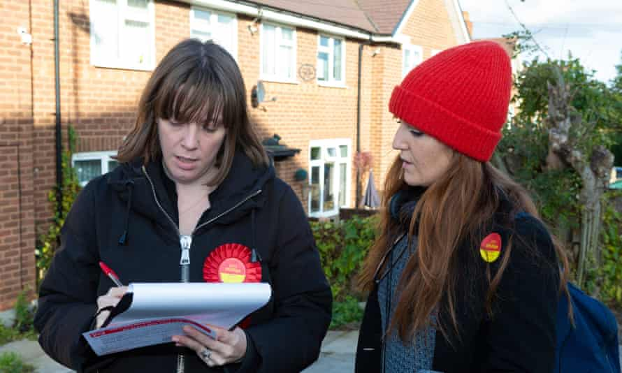 Labour's Jess Phillips Campaigns In Her Birmingham Yardley Constituency