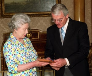 With John Major in 1999