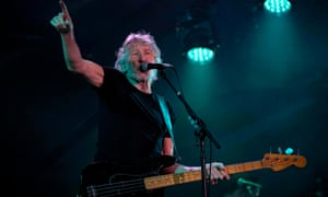 British rock icon Roger Waters performs at Maracana stadium in Rio de Janeiro, Brazil on 24 October 24, 2018.