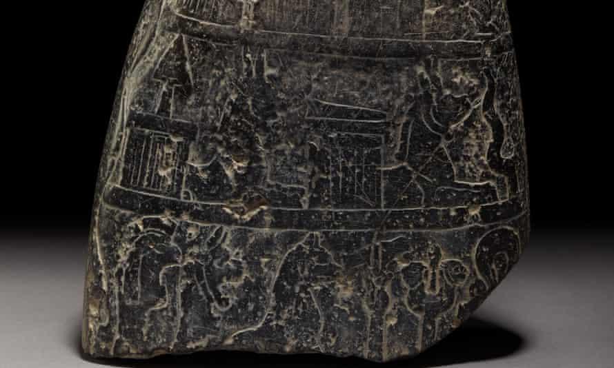 Babylonian cuneiform kudurru