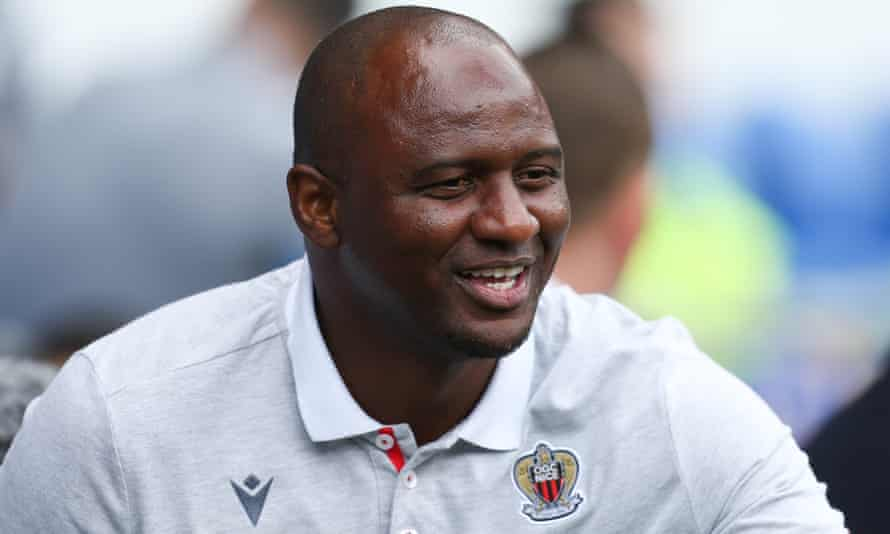 Patrick Vieira, currently the manager of Nice, played without fear, with fight and responsibility but also with quality and guile – the recipe Arsenal need.