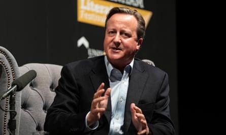 David Cameron in 2019