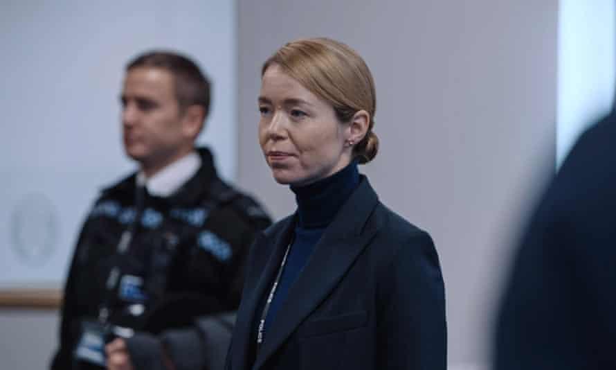 Anna Maxwell Martin as DCS Patricia Carmichael.