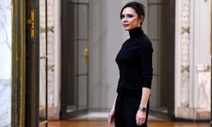 Victoria Beckham at New York fashion week earlier this year