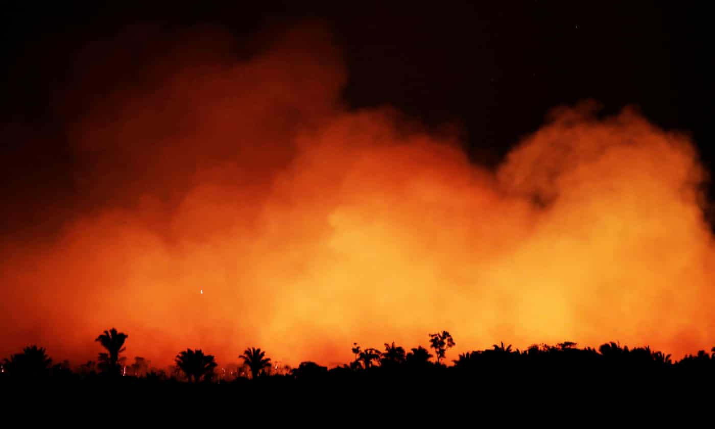 Brazilian minister booed at climate event as outcry grows over Amazon fires