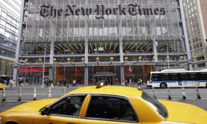 New York Times office