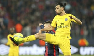 PSG's Javier Pastore is a target for the new West Ham manager, Manuel Pellegrini.