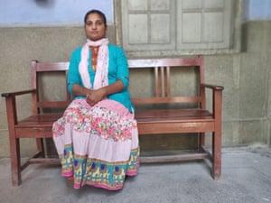 An ancillary worker at Rajindra hospital