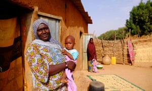 Niger has the highest birthrate in the world. Women have an average of more than seven children each.