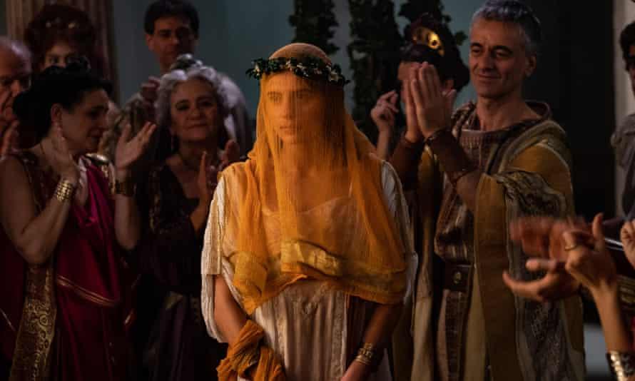 Nadia Parkes as Livia Drusilla in Domina