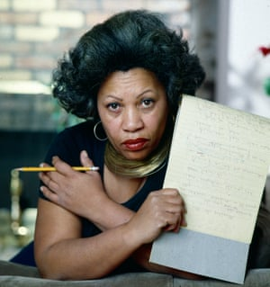 Toni Morrison photographed in New York City in 1979.