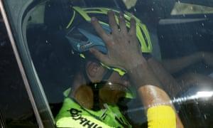 Alberto Contador retires from the race