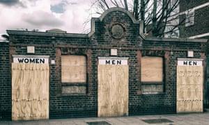 Disused public toilets in London