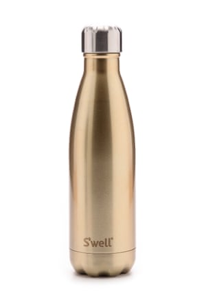 The S'well gold water bottle.