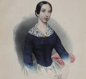 A portrait of the singer Pauline Viardot, from the collection of I Turgenev Memorial Museum, Moscow.