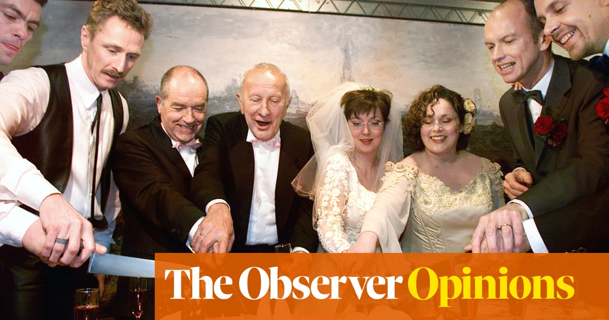 Legalising same-sex marriages made even the unwed happy