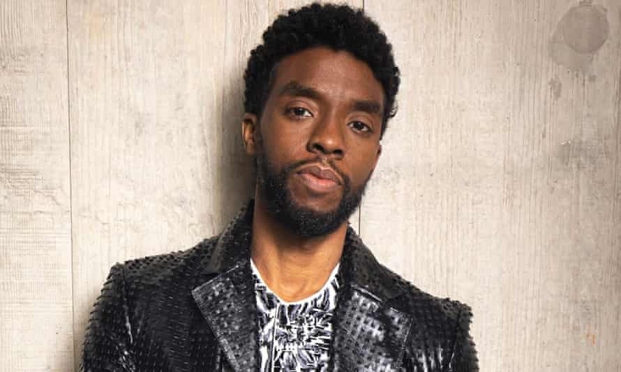 'A tribute fit for a king' … Chadwick Boseman in November 2019.