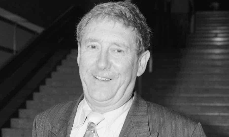 Austin Mitchell at the Labour party conference in 1991.