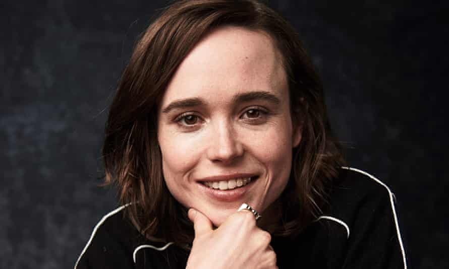 'There's still that double standard' ... Ellen Page.