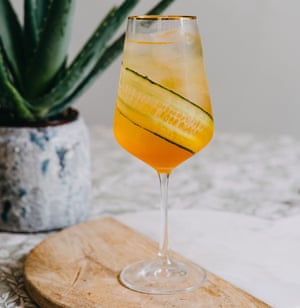 Camille Vidal's healthy hedonist spritz.