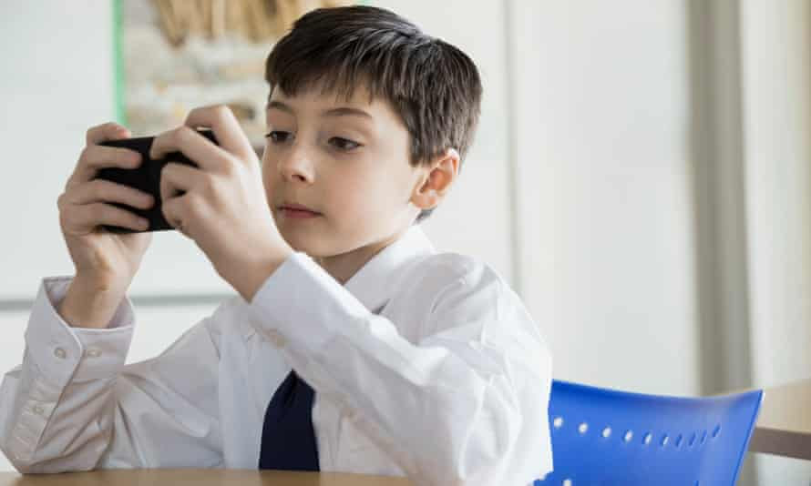 'We want to teach children  self-moderating behaviour and how to live with a phone without it dominating their lives.'