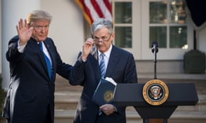 Trump's reported musings about firing Jerome Powell, his own appointee who has raised interest rates against the president's wishes, have stoked Wall Street jitters.