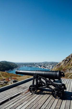 Signal Hill, St John's, Newfoundland, Canada.