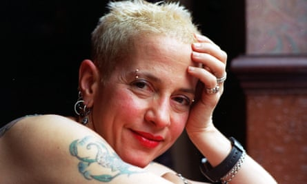 Leader of the pack … Kathy Acker.