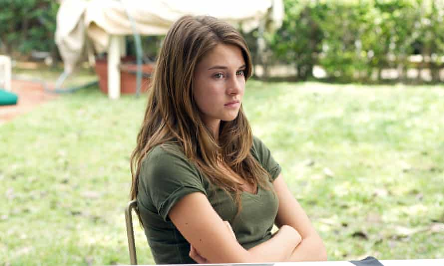 Bright young thing: in her breakout film, 2011's The Descendants.