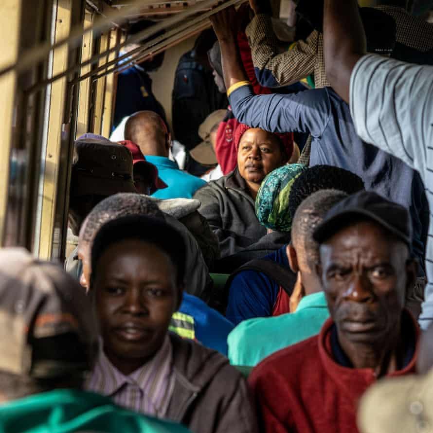 Passengers on board