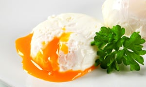 The poached egg ... delicious liberation from trying too hard.
