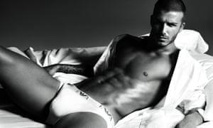 David Beckham's Armani ad.