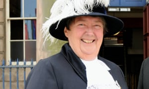 Helen Carty in May 2011 at the time of her inauguration as high sheriff of Merseyside. She had the vision to see how technology, such as MRI scans, could be used as easily for young patients as for adults