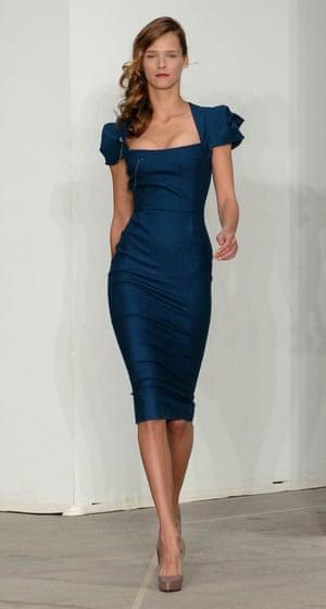 Roland Mouret's galaxy dress, 2005.