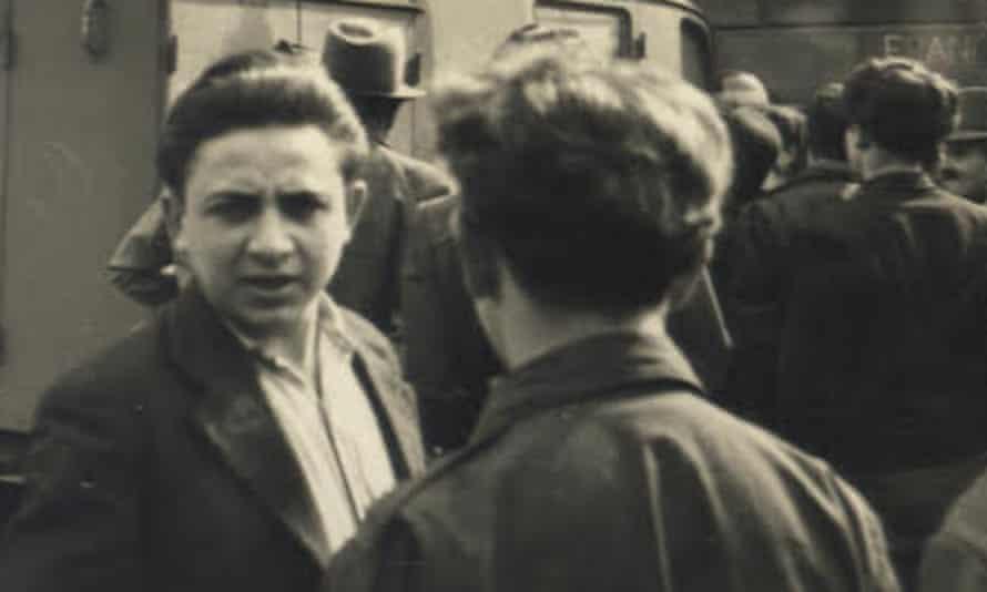 Herschel Grynszpan in the newly-found 1946 photograph