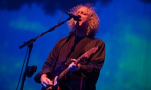 Kevin Shields of My Bloody Valentine performs on stage on Day 1 of Electric Picnic Festival 2013 at Stradbally Hall Estate on August 30, 2013 in Dublin, Ireland. (Photo by Gaelle Beri/Redferns via Getty Images)