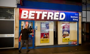 A Betfred shop in Birmingham
